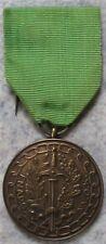 Médaille Belge LABOR VALOREM F.N.A.P.G. 1914 - 1918   1940 - 1945