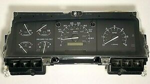 92-96 Ford Bronco Pickup Instrument Cluster PSOM Speedometer F150 250 F350 Truck