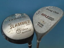PRE LOVED JUNIOR CLUBS - DRIVER - DONNAY SLAMMER- 3 WOOD - RIFLE YOUNG GUN