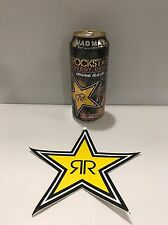 Rockstar Energy Drink Mad Max 2015 Limited Edition Can Full With Rockstar Stickr