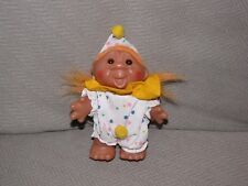 "5"" Norfin 1986 Troll Clown Orange Hair"