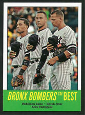 """Jeter / A-Rod / Cano 2012 Topps Heritage """"Bronx Bombers Best"""""""