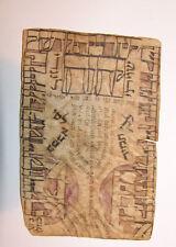 jewish judaica antique Shiviti On Parchment mizrach