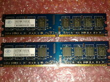 2x1GB = 2GB kit DDR2 / PC2-5300 667 Mhz  / NON-ECC Desktop MEMORY RAM / 240 PIN