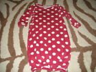 BOUTIQUE COUNTRY CUTTIN/'S NB NEWBORN BUNTING SACK OUTFIT  GOWN