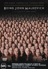 Being John Malkovich (DVD, 2003) John Cusack / Cameron Diaz / Spike Jonze Film