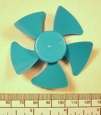 Fan impeller 5 bladed 60 mm diameter. push fit on 2 mm shaft motors