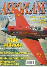 AEROPLANE 8/98 BOEING B-29 SUPERFORTRESS INTERIOR / SWISS AF HAWKER HUNTER @