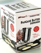 Pancake/Batter Dispenser Stainless Steel Perfect Pancakes, Cupcakes, Waffles &