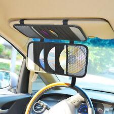 Car Visor-Mounted Holder for 20pcs CD/DVD Diska Storage Holder & Accessories
