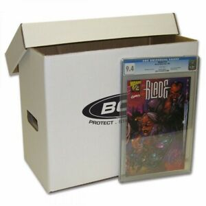 1 New BCW Graded Comic Storage Box Double thickness Holds 35 - 40 CGC Slabs