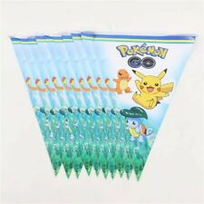 Pokemon Pikachu Birthday Banner Bunting Flags