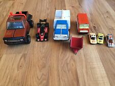 Lot Of Vintage Tonka Trucks & Hotwheel Cars
