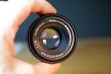 Pentacon Prakticar f1.8 50mm MC, Praktica Bajonett adaptierbar