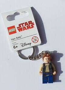 LEGO Han Solo Keychain/Keyring - Star Wars 853769 (Retired)