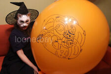 """Big Giant Olympic 45"""" balloons with print """"Halloween Witch"""""""
