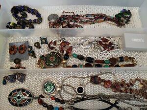 Vintage Estate Lot Jewelry Bracelets Necklaces NO RESERVE! ALL CHICOS BRAND