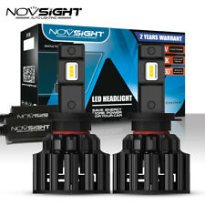 2x NOVSIGHT H7 LED Bulbs Hi/Low Beam 100W 20000LM Headlight Conversion Kit Lamp