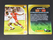 LE MANS-RC LENS CARTE ACTION PANINI FOOTBALL CARD 2006-2007