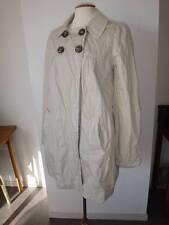 Magnifique veste parka manteau léger IKKS marron clair  taille 36 voir 38 tbe!