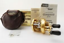 SHIMANO CALCUTTA CONQUEST 201 Left Handed Excellent+++++ A746