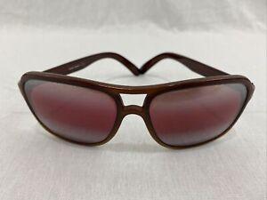 Suncloud SCR Sunglasses France Depose Brown Frame Rose Lenses Vintage