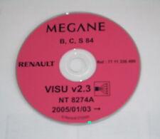 Werkstatthandbuch Elektrik Schaltpläne auf CD Renault Megane - Stand 01/2005