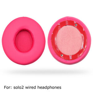 Pink Ear pads cushion pad for Beat solo2 solo 2.0 / solo 2.0 wireless headphone