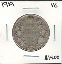 Canada 1919 50 Cents VG Lot#5