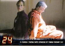 TWENTY FOUR 24 TELEVISION SHOW SEASONS 4 EXPANSION 2007 ARTBOX PROMO CARD P2