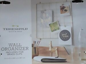 Threshold WALL GRID 15in X 15in Wall Decor BRAND NEW [E1]