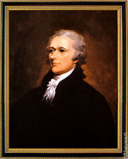 Alexander Hamilton Framed Portrait