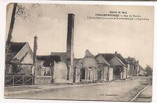 fère-champenoise , rue du moulin, l'usine electrique après le bombardement