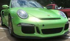 Porsche 986 Boxster / 996  to  991 GT3 conversion update bumper spoilers
