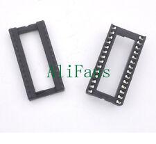 5pcs 28PIN 28 PIN DIP IC Socket Adaptor Solder WIDE Type Socket Pitch Dual Wipe