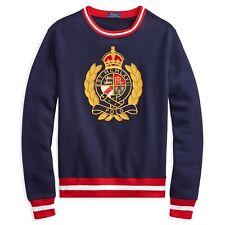 Ralph Lauren Polo- Fleece Graphic Sweatshirt [Size: 3LT]