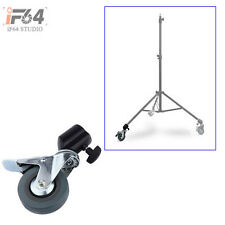 1 Pcs Photo Studio Heavy Duty Wheel Universal Caster Wheel For Light Stands Boom