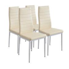 4 x Esszimmerstühle MILANO - beige - Esszimmerstuhl Küchenstuhl Stuhl Stühle