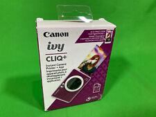 Canon Ivy Cliq+ Instant Film Camera Printer Ruby Red OPEN BOX