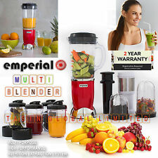 Multifunctional 4 in 1 Smoothie Maker Blender Grinder Juicer Set