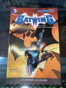 Batwing Volume 1 The Lost Kingdom DC New 52 TPB BRAND NEW Winick Batman