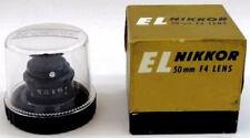 Adapt For Macro Shots Vintage Exp. EL Nikkor 50MM F4 Lens, Original Box & Case