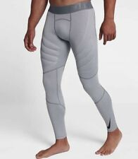 NIKE PRO HYPERWARM AEROLOFT Men's Training Tights 859747-065 Grey Size M New