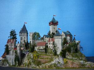 "Diorama  Burg/Castle/Chateau  ""LAURENSTAL"""