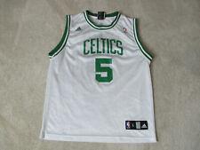 0171292e51f Adidas Kevin Garnett Boston Celtics Basketball Jersey Youth Large White  Green
