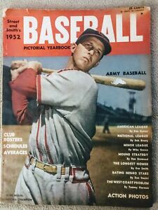 1952 STREET AND SMITHS Baseball Yearbook STAN MUSIAL COVER
