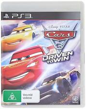 Cars 3 Driven To Win Disney Pixar Warner Bros Racing Game Sony Playstation 3 PS3