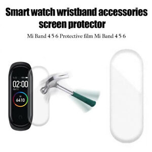 Smart Watch Protective Film Fully Screen Protectors for Xiaomi Mi Band 4 5 6 SKY