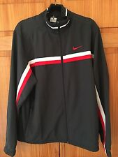 NIKE DRI FIT MENS JACKET XL CHARCOAL GREY