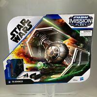 Star Wars Mission Fleet Tie Advanced Fighter with Darth Vader Figure